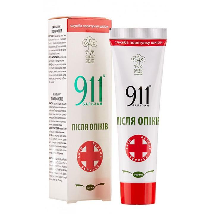 Бальзам 911 После ожогов, 100 мл