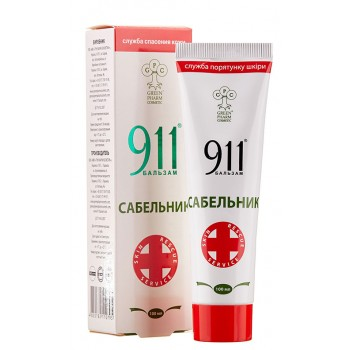 Бальзам 911 Сабельник, 100 мл