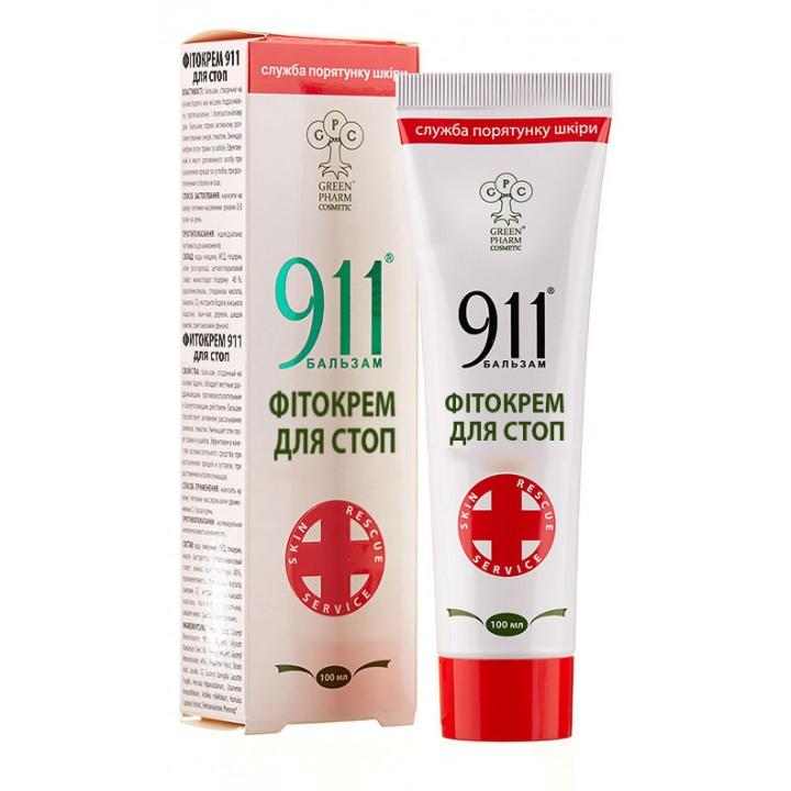 Фитокрем 911 Для стоп, 100 мл