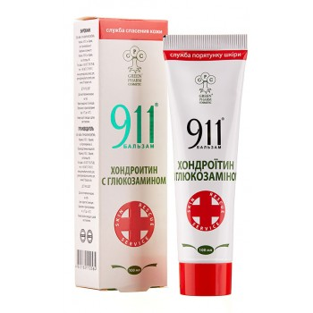 Бальзам 911 Хондроитин с глюкозамином, 100 мл