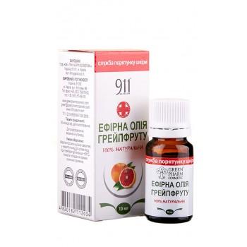 Эфирное масло грейпфрута, 10 мл