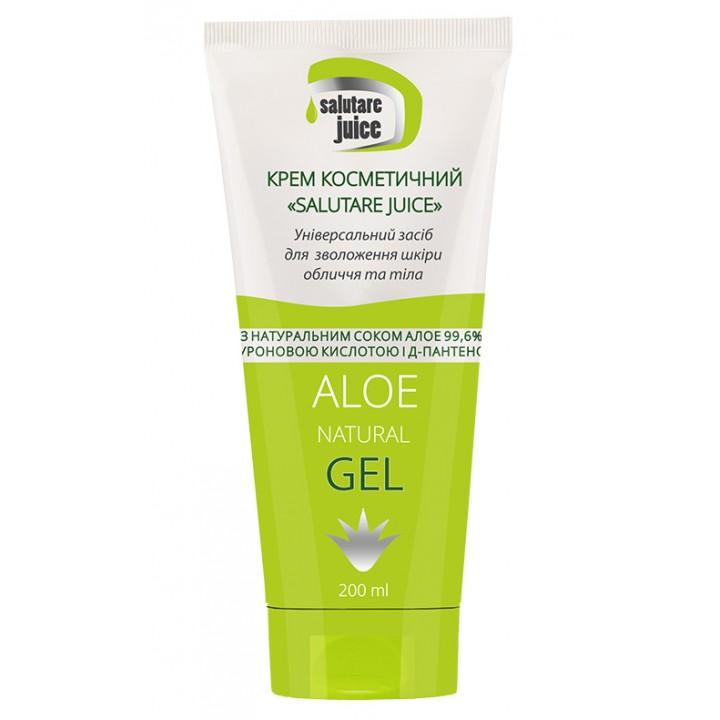 Крем косметический «Salutare juice» гель с соком Алоэ 99,6%, гиалуроновой кислотой и Д-пантенолом