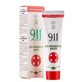 Бальзам 911 Для поврежденной кожи, 100 мл