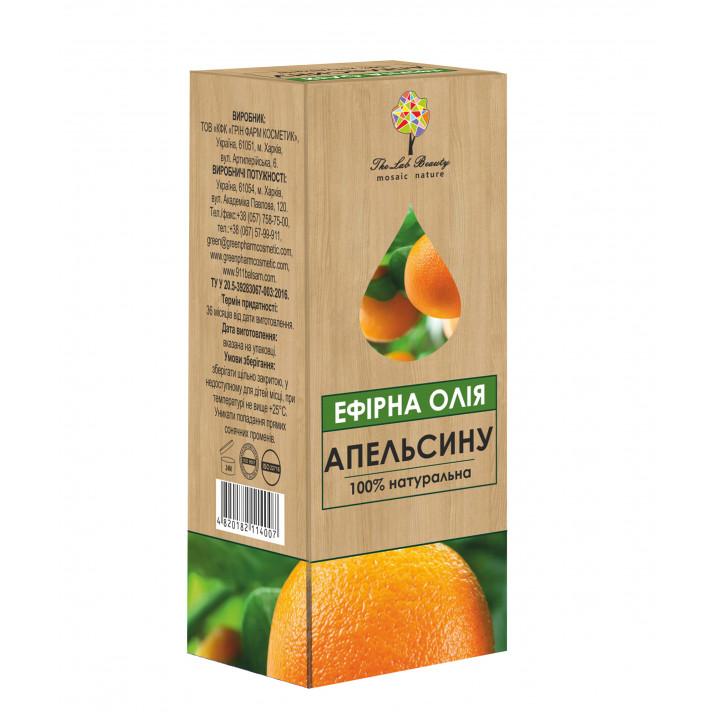 Ефірна олія апельсину The Lab Beauty, 20 мл