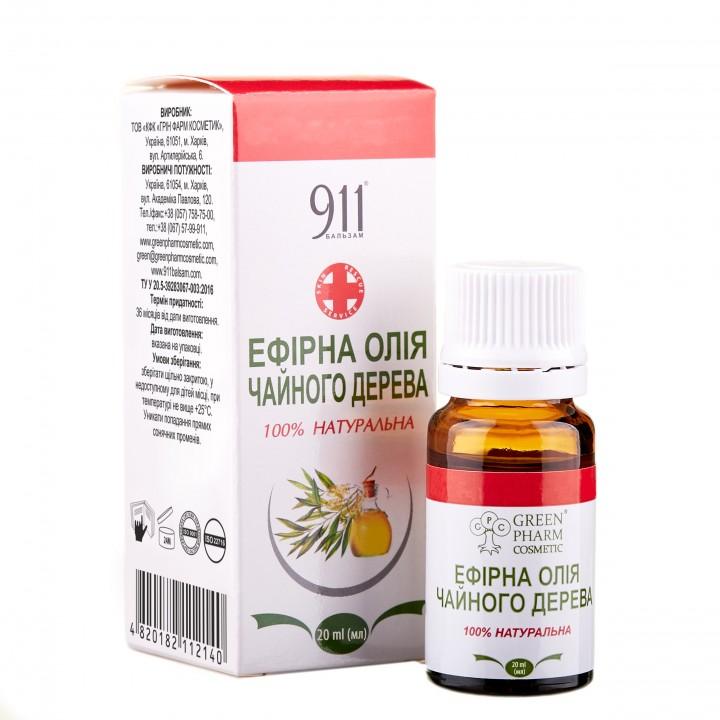 Эфирное масло чайного дерева, 20 мл