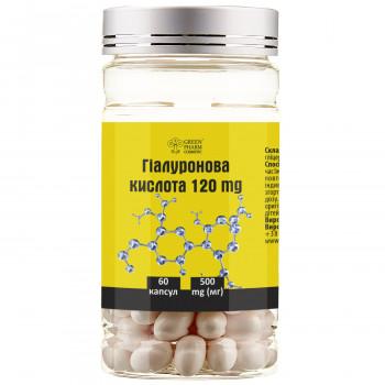 Добавка диетическая к рациону питания «Гиалуроновая кислота» 120 мг №60