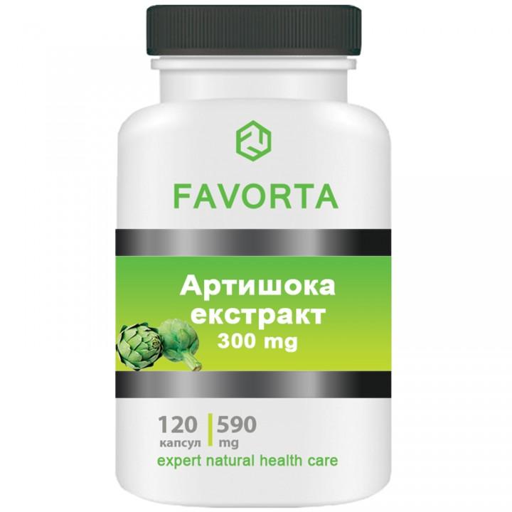Добавка диетическая «Артишока экстракт», капсулы 590 мг №120