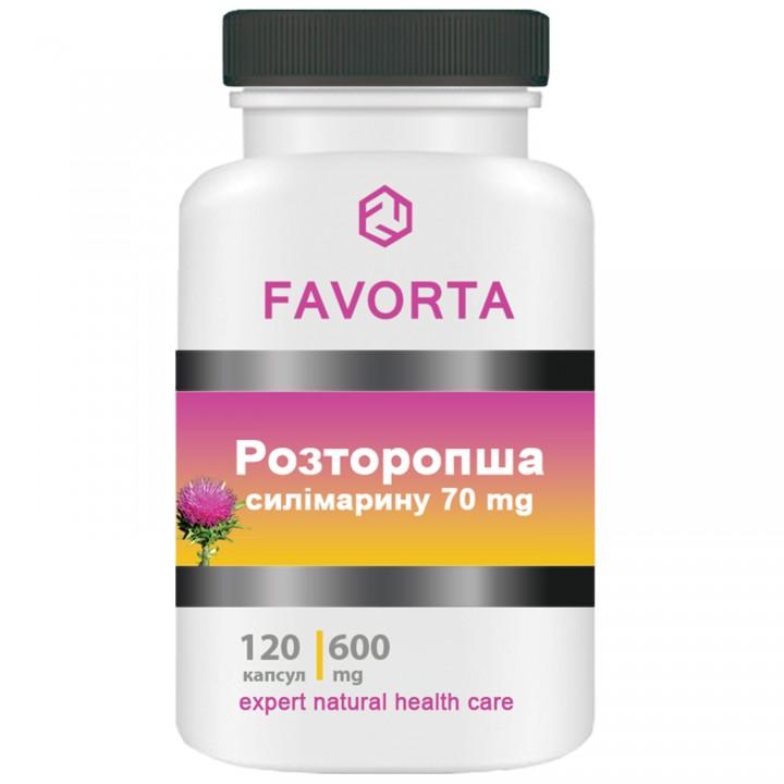 Добавка диетическая «Расторопша», капсулы 600 мг №120