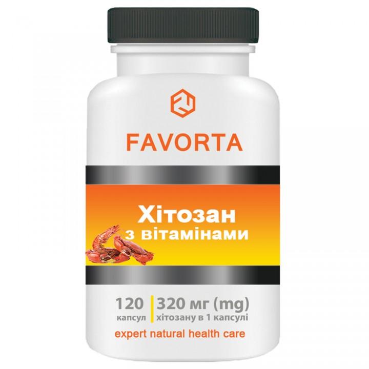 Добавка диетическая «Хитозан с витаминами», капсулы 320 мг №120