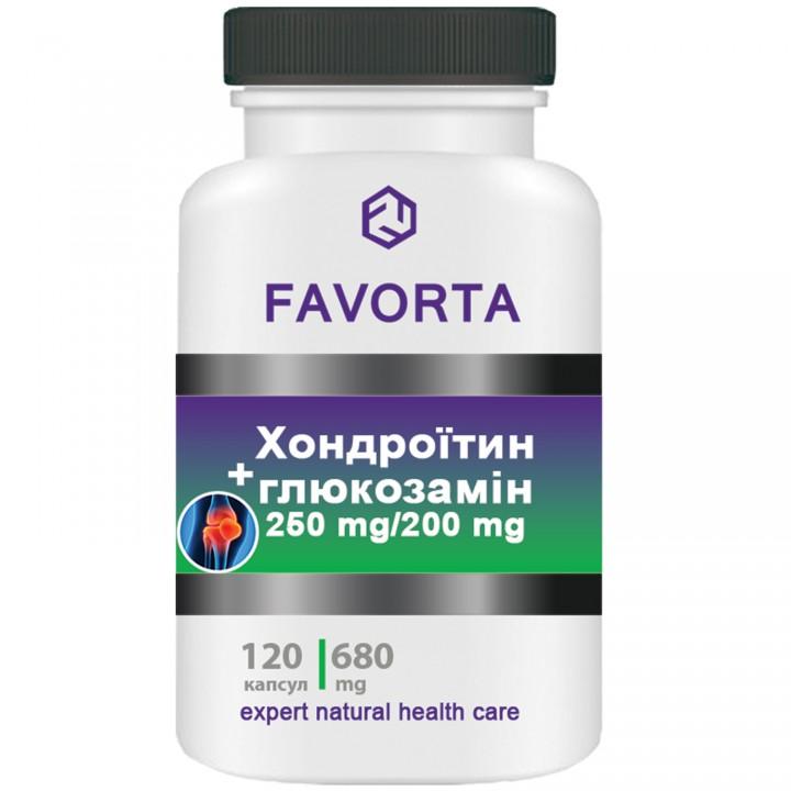 Добавка диетическая «Хондроитин+глюкозамин», капсулы 680 мг №120