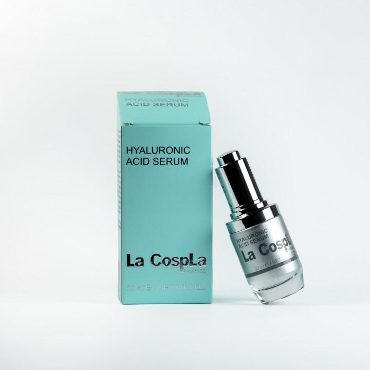 Увлажняющая сыворотка с гиалуроновой кислотой La СospLa®, 30 ml
