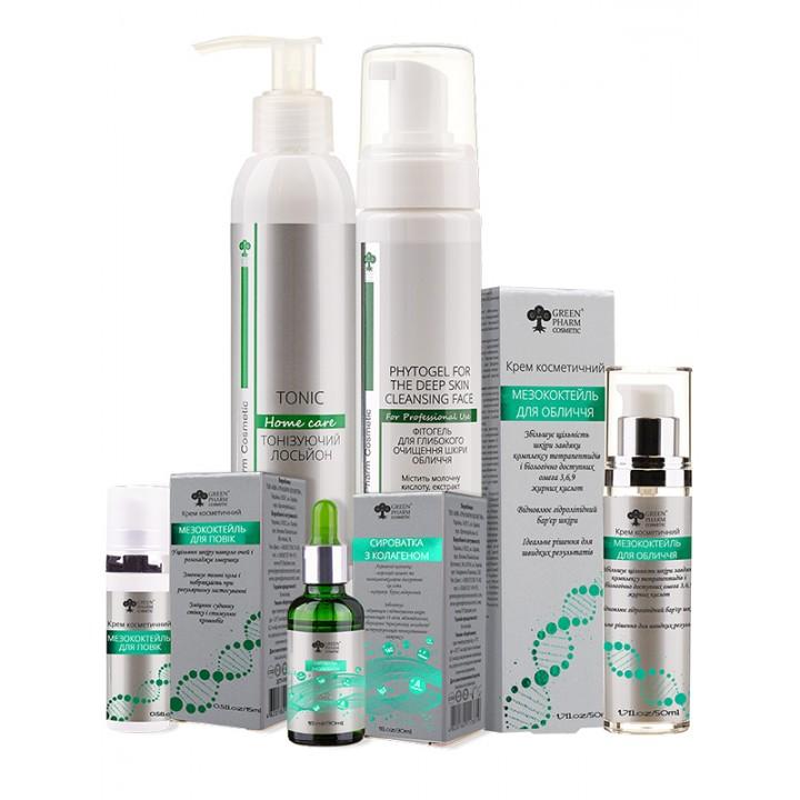 Набор 35+ Green Pharm Cosmetic