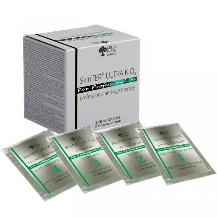 SKINTER ULTRA K1 O2 на 5 процедур (саше), 200 мл